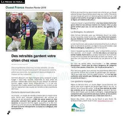 Garde d''animaux : vos compagnons chouchoutés pendant vos vacances article