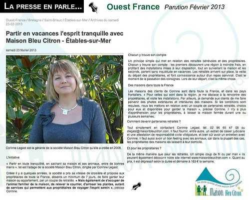Home sitting : des maisons sur toute la France article
