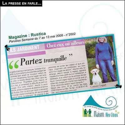 Garde d''animaux et de maison article