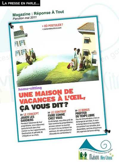 Devenir home-sitter : des vacances gratuites en échange de services article